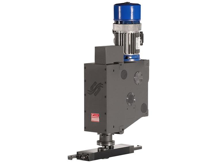 Il cambia utensili VTC della Colombo Filippetti è un meccanismo a camma che realizza i movimenti tipici del dispositivo con ingombri esigui.