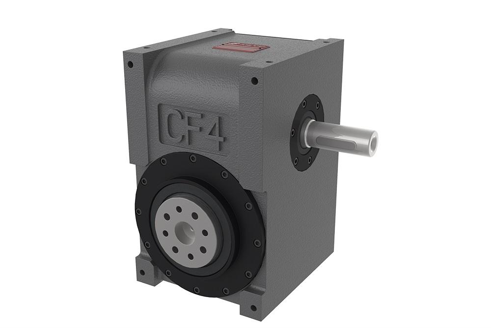CF4 : Globoidkurven - Schrittgetriebe