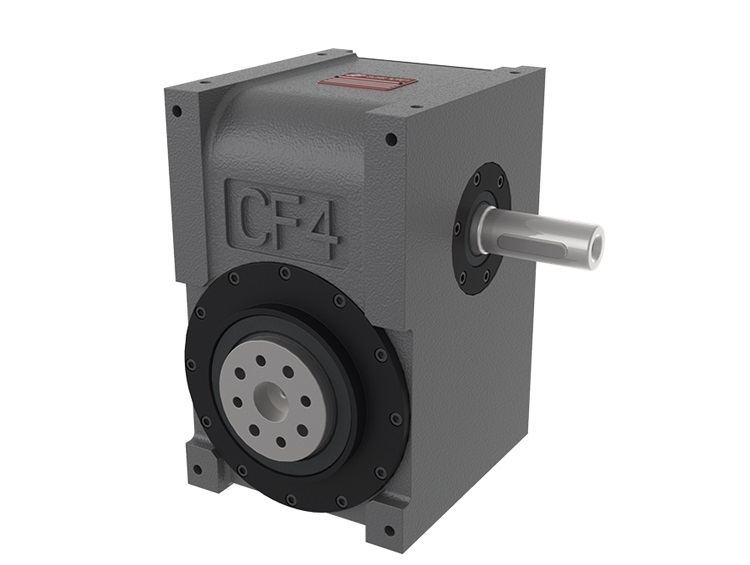CF4 Indexer with orthogonal axes